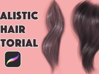 Best FREE Procreate HAIR Brushes You Can Download For Free